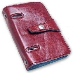 Strap-Style Leather Lined Binder