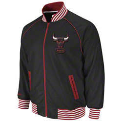 Chicago Bulls Black Downtown Track Jacket