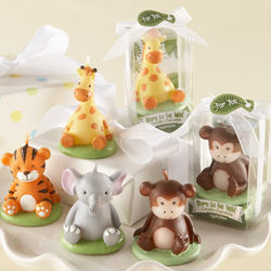 """Born to be Wild"" Animal Candle Favors"