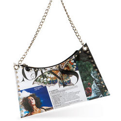 Recycled Magazine Shoulder Bag