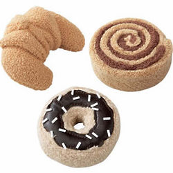 Fabric Sweet Pastries Development Toys