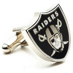 Oakland Raiders Enamel Cufflinks