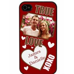 True Love Photo Personalized iPhone Case for iPhone 4 and 4S