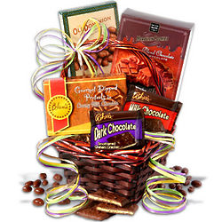 Mini Chocolate Gift Basket