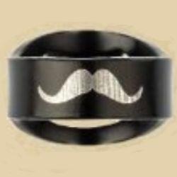 Mustache Bottle Opener Ring