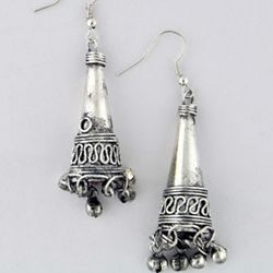 Filigree Cone Earrings