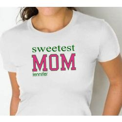 Fitted Mom or Grandma T-Shirt