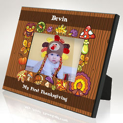 Personalized Thanksgiving Fun Picture Frame