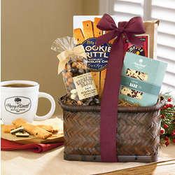 Coffee and Mug Gift Basket