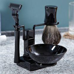 Trifecta Black Shaving Kit