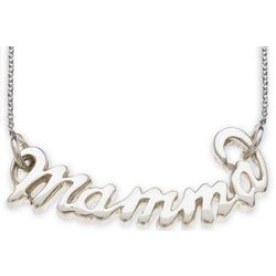 Italian Mamma Necklace