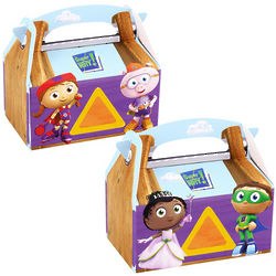 4 Super Why! Empty Favor Boxes