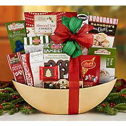 Sweet Winter Cheer Gift Basket