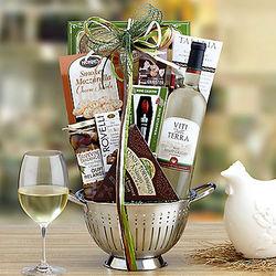 Viti Della Terra Pinot Grigio Gift Basket