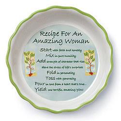 Amazing Woman Baking Dish