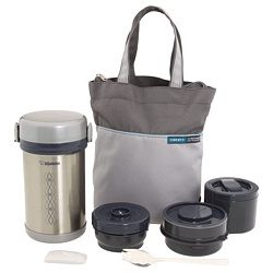 Ms. Bento Stainless Steel Lunch Jar Set