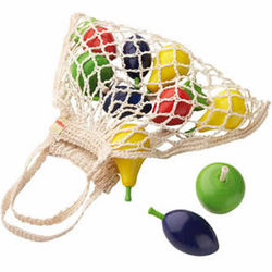 Shopping Net with Fruits Development Toys