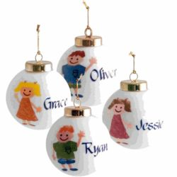 Personalized Kid's Christmas Ornament