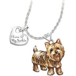Dog Lovers Playful Pup Diamond Pendant Necklace