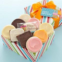 Happy Birthday Duo Delight Cookie Gift Box