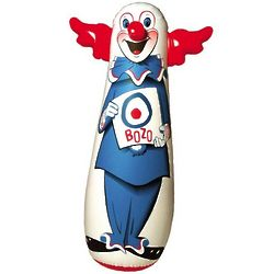 Original 46-Inch Bozo the Clown Bop Bag