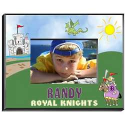 Colorful Design Personalized Boy's Picture Frame