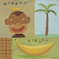 Nana Monkey Wall Art