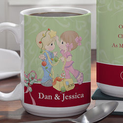 Personalized Christmas Couple Coffee Mug