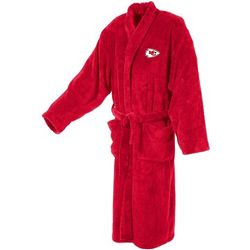 Kansas City Chiefs Men's Ultra Plush Red Bathrobe