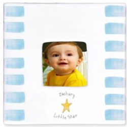 Personalized Little Star Small Ceramic Frame