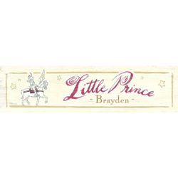 Little Prince Vintage Wall Sign
