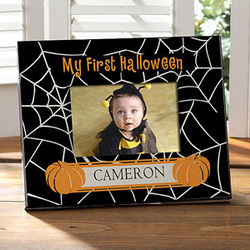 Personalized Spider Web Frame