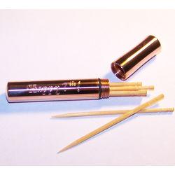Engravable Copper Toothpick Case