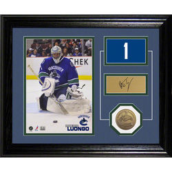 Roberto Luongo Vancouver Canucks Desk Top Photograph