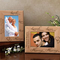 Personalized Love You Always Wooden Picture Frame