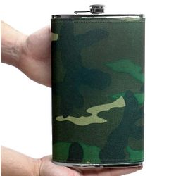 Camo Giant Extremely Large Flask