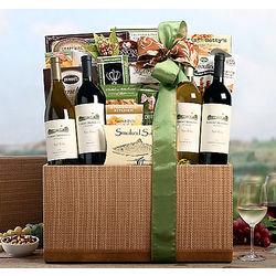 Robert Mondavi Napa Valley Quartet Gift Basket