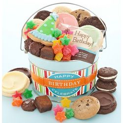 Birthday Cookies and Treat Gift Pail
