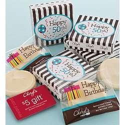 50th Birthday Cookie and $5 Gift Card