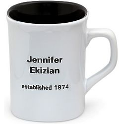 Personalized Glossy Coffee Mug