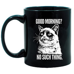 Grumpy Cat Good Morning Mug