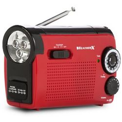 AM FM Weatherband Radio