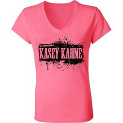Kasey Kahne #5 Ladies Hot V-Neck Tee