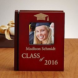 Personalized Wooden Graduation Album