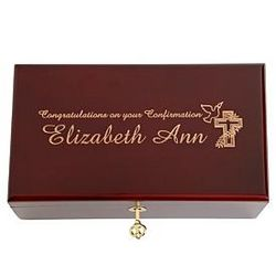 Personalized First Communion/Confirmation Keepsake Box