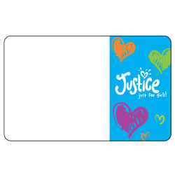 Limited Too/Justice Customizable Gift Card