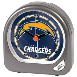 San Diego Chargers Plastic Alarm Clock
