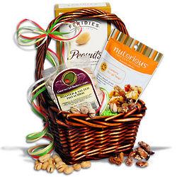 Nut Sampler Mini Gift Basket