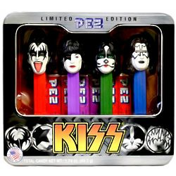 Limited Edition Kiss Pez Dispensers