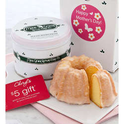 Mother's Day Lemon Cake and $5 Gift Card Greeting